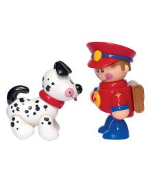 Tolo Postman And Puppy Toy Figures - Multicolor