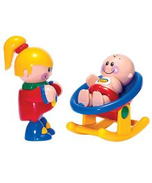 Tolo My Big Sister And Baby Toy Figures - Multicolor