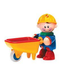 Tolo Construction Worker Wheelbarrow Toy - Multicolor
