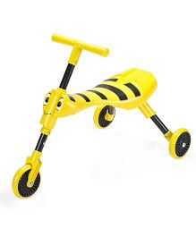 Mookie Scuttle Bug Bumble Ride On - Yellow Black