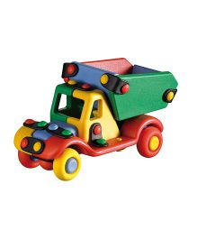 Mic O Mic Small Truck Construction Set - Multicolor