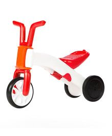 Chillafish Bunzi 2 In 1 Gradual Balance Bike - Red