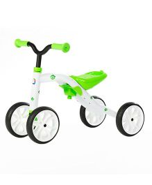 Chillafish Quadie Push Bike - Lime Green