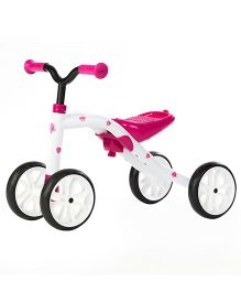 Chillafish Quadie Push Bike - Pink