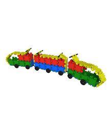 Clics Train Box Construction Set - Multi Color