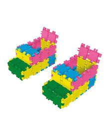 Clics Fashion Drum Blocks - Multicolor