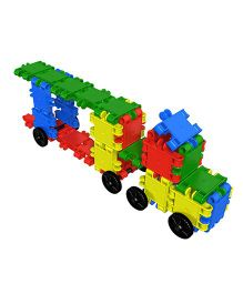 Clics Build And Play Drum Building Blocks - Multicolor