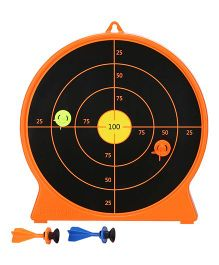 Petron Sureshot Targets - Orange Black
