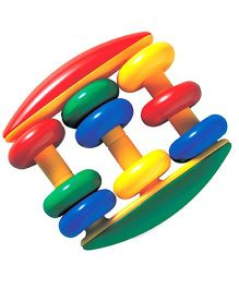 Tolo Abacus Rattle - Multicolor