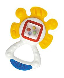 Tolo Activity Teether Rattle - Multicolor