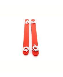 Gonge Summer Skis - Red