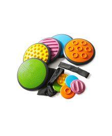 Gonge Tactile Discs Set 1 - Multicolor