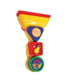 Tolo Bathtime Pour And Spin Shape Sorter - Multicolor