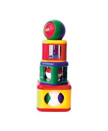 Tolo Stacking Activity Shapes - Multicolor