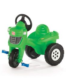 Step2 Pedal Farm Tractor Tricycle - Green