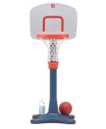 Step2 Shootin' Hoops Junior Basketball Set - Blue Orange