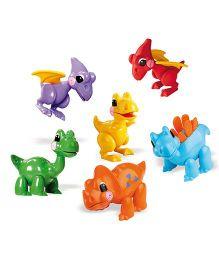 Tolo Dinosaurs Figures Multicolor - 6 Pieces