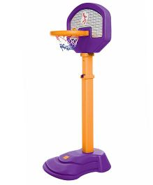 OK Play Basket Ball Ring - Orange Purple