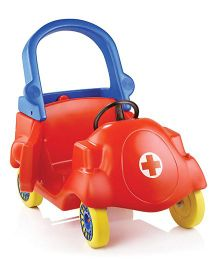 OK Play coupe Car - Red