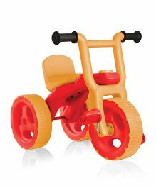OK Play Pacer Tricycle - Orange Yellow