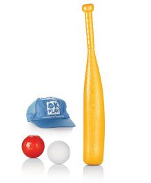 OK Play Striker Baseball Set - Multicolor