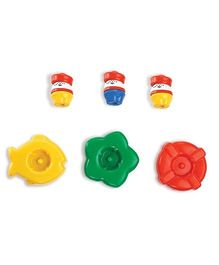 OK Play OK Play Tubby Tots Bath Toys - Multicolor