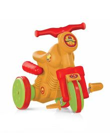 OK Play Turbo Tricycle - Yellow