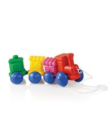 OK Play Wooble Wagon Train - Multicolor
