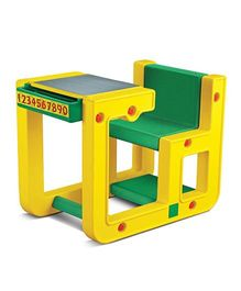OK Play Table Chair Set - Yellow Green