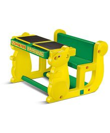 OK Play Table Chair Set - Green Yellow