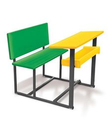 OK Play Senior Scholar Table - Yellow Green