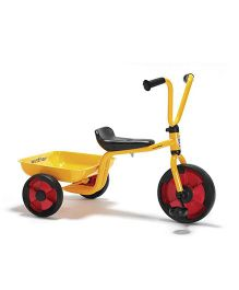 Winther Duo Tricycle With Tray - Yellow Red Black