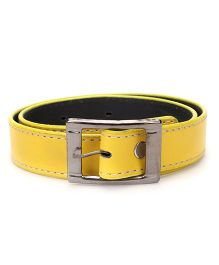 Kid O Nation Yellow Belt With Stitch Detail