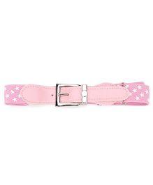 Kid O Nation Belt Star Print - Light Pink