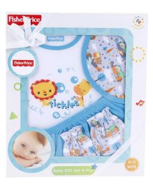 Fisher Price Apparel Clothing Gift Set - Blue