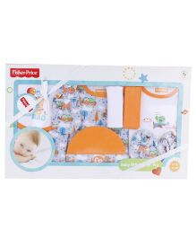 Fisher Price Apparel Clothing Gift Set Orange - 9 Pieces
