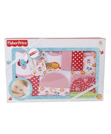 Fisher Price Apparel Clothing Gift Set Pack of 10 - Red White