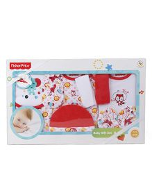 Fisher Price Apparel Clothing Gift Set Pack of 9 - Red White
