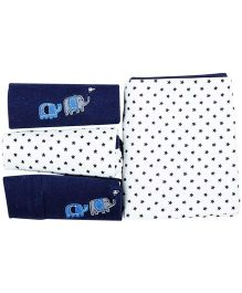 M&M Infant Gift Box Blue - Pack of 4