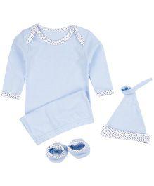 M&M Infant Gift Box Blue - 3 Pc Pack