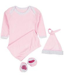 M&M Infant Gift Box Pink - 3 Piece Pack