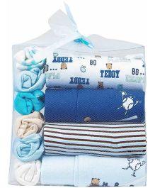 M&M Infant 10 Pack Gift Box - Blue