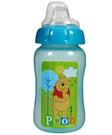 Winne the Pooh Ht Gripper Cup With Silicone Spout Blue 240 ml