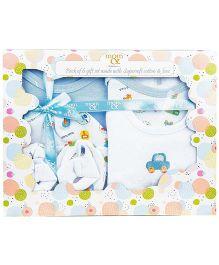 Babyoye Infant 5 Pack Gift Box - Blue