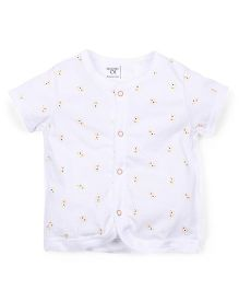 M&M 7 Piece Organic Cotton Clothing Gift Set - White Orange