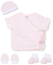 M&M 5 Piece Organic Cotton Clothing Gift Set - Pink