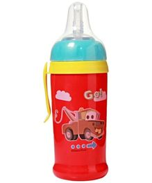 Cars Clip & Go Bottle with Silicone Straw