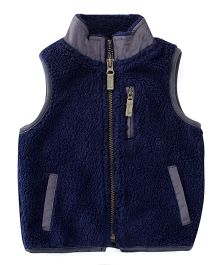 Carters Sleeveless Jacket - Navy