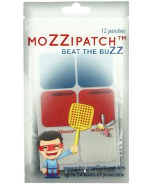Mozzipatch Core Range Anti-Mosquito Patch - 12 Pieces