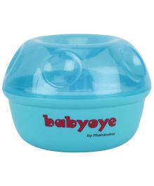 Babyoye Powder Puff With Storage Case - Blue